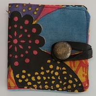 Funky flower Cotton sewing needle book