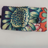 Blue flower Cotton needle book, needle case