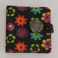 Cotton Needle Case with multi print flowers