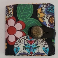 Sugar Skull Needle Case