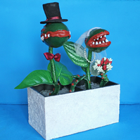 Killer Plant - Wedding Couple in lace box