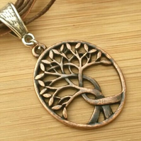Tree of Life Necklace, Intertwined.  Nature, Love Gift, Gift Ideas, Hippie