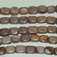 "16"" Strand of Picture Jasper Nuggets"