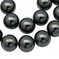 Strand of 6mm Haematite Beads