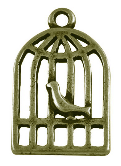 20 Antique Bronze Birdcages