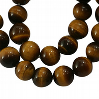 Strand of 6mm Tigers Eye Beads