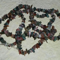 "34"" Of Indian Agate Chips"