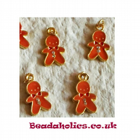 4 cute little Ginger Bread Men