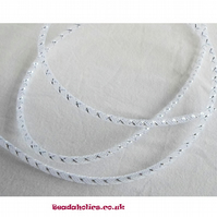 1 metre of White Mesh tubing