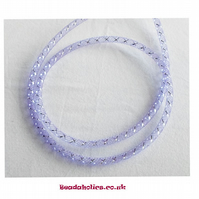 1 Metre of Purple Mesh Tubing