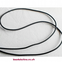 3 metres of black silicone tubing