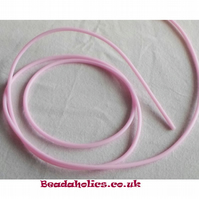 3 metre of Hollow pink silicone tubing