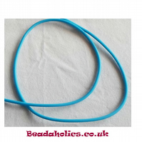 3 metre of Aqua Hollow silicone tubing