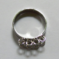 5 x 8 looped adjustable rings