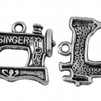 10 Cute Singer sawing Machine Charms