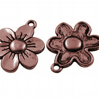 20 x Tiny flower Charms