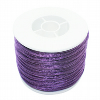 10 Metres of  2mm lilac cord