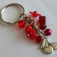 Cute little red keyring