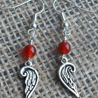 Sweet Pair of Angel wing earrings