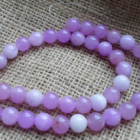 Strand of 10mm Round Jade Beads