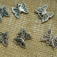 10 lovely  butterflies