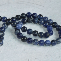 Strand of 10mm Sodalite Beads