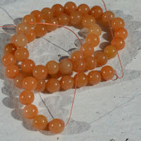 Strand of 8mm Red Aventurine