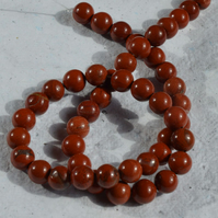 Strand of 8mm Red Jasper