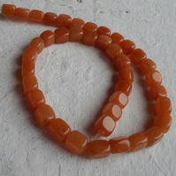 "16"" Strand of Red Aventurine Nugget Beads"