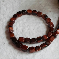 "16"" Strand of Red Tigers Eye Nugget Beads"