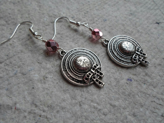 A Pair of Sweet Bonnet Earrings