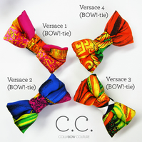 ***COLLABOW COUTURE VERSACE BOW! TIES***