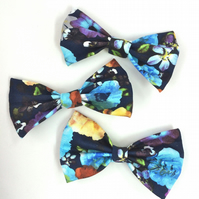 Winter Floral BOW!
