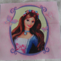 Polycotton squares. Brown hair.  Sold separately.  .62p postage on many (27)