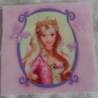 Polycotton squares. Blonde hair.  Sold separately.  .62p postage on many (28)
