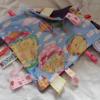 Homemade baby,child taggy, comforter.  Forever friends (1)