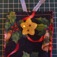 Homemade Christmas tree decoration. Bells (29) Free postage
