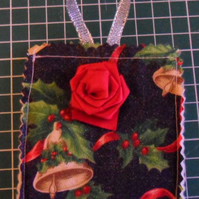 Homemade Christmas tree decoration. Bells (30) Free postage