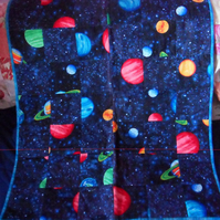 Homemade Solar System 100% cotton Quilt