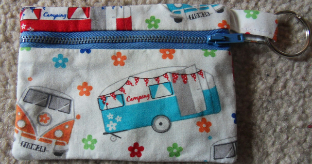 Coin Purse, Camper vans and Camping