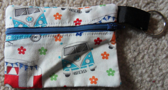 Coin Purse, Camper van and camping