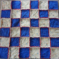 Beatrix Potter Rag Quilt, Peter Rabbit