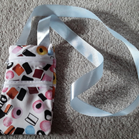 Round the neck, Liquorice Allsorts money bag (65)