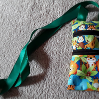Round the neck, Jungle animals money bag (16)