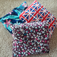 Set of three Lavender pillows, Mixture of pillows