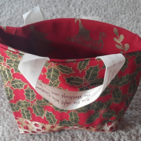 Homemade Christmas sweet-treat or party Bag (3)