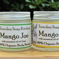 Mango Joe , decadent body butter,  organic vegan moisturiser, preservative free