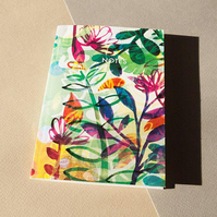 A6 Summer Flowers Notebook - Stationery - Paper Goods - Paper Product