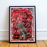 Year of the Rat Chinese New Year 2020 Fine Art Print
