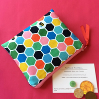 Colourful Bee Coin Purse